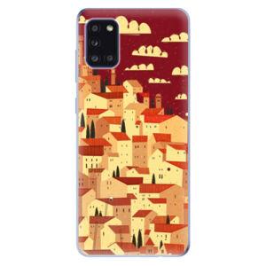 Odolné silikónové puzdro iSaprio - Mountain City - Samsung Galaxy A31