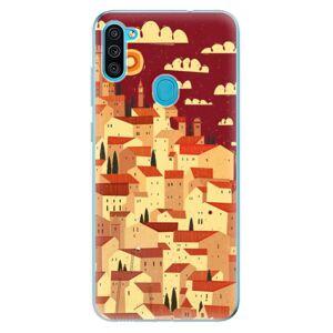 Odolné silikónové puzdro iSaprio - Mountain City - Samsung Galaxy M11