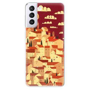 Odolné silikónové puzdro iSaprio - Mountain City - Samsung Galaxy S21+