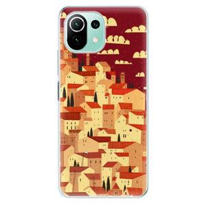 Odolné silikónové puzdro iSaprio - Mountain City - Xiaomi Mi 11 Lite