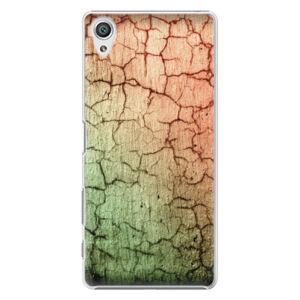 Plastové puzdro iSaprio - Cracked Wall 01 - Sony Xperia X