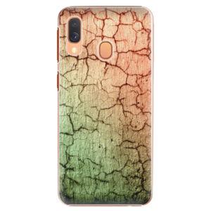 Plastové puzdro iSaprio - Cracked Wall 01 - Samsung Galaxy A40