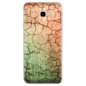 Odolné silikónové puzdro iSaprio - Cracked Wall 01 - Samsung Galaxy J4+