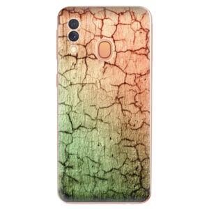 Odolné silikónové puzdro iSaprio - Cracked Wall 01 - Samsung Galaxy A40