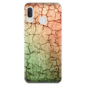 Odolné silikónové puzdro iSaprio - Cracked Wall 01 - Samsung Galaxy A20e