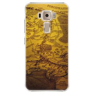 Plastové puzdro iSaprio - Old Map - Asus ZenFone 3 ZE520KL