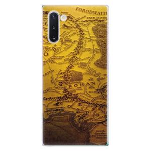 Odolné silikónové puzdro iSaprio - Old Map - Samsung Galaxy Note 10