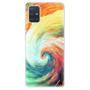 Odolné silikónové puzdro iSaprio - Modern Art 01 - Samsung Galaxy A51