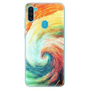 Odolné silikónové puzdro iSaprio - Modern Art 01 - Samsung Galaxy M11