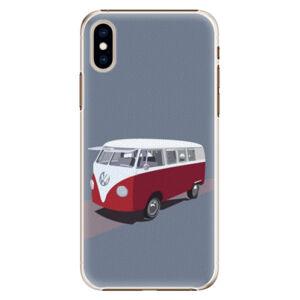 Plastové puzdro iSaprio - VW Bus - iPhone XS