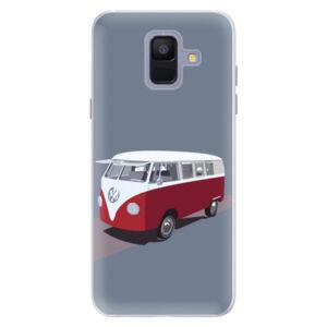 Silikónové puzdro iSaprio - VW Bus - Samsung Galaxy A6