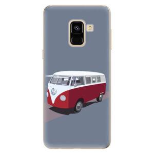 Odolné silikónové puzdro iSaprio - VW Bus - Samsung Galaxy A8 2018