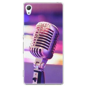 Plastové puzdro iSaprio - Vintage Microphone - Sony Xperia Z3+ / Z4