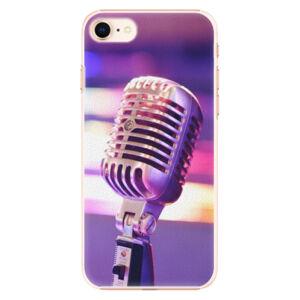Plastové puzdro iSaprio - Vintage Microphone - iPhone 8