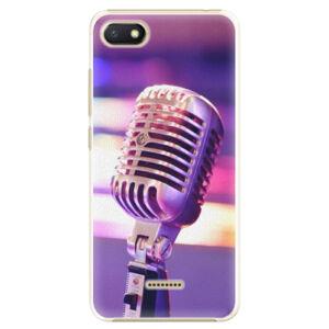 Plastové puzdro iSaprio - Vintage Microphone - Xiaomi Redmi 6A
