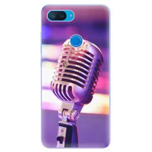 Odolné silikonové pouzdro iSaprio - Vintage Microphone - Xiaomi Mi 8 Lite