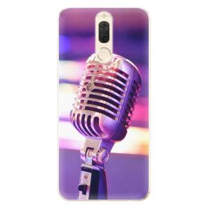 Odolné silikónové puzdro iSaprio - Vintage Microphone - Huawei Mate 10 Lite