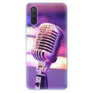 Odolné silikónové puzdro iSaprio - Vintage Microphone - Xiaomi Mi 9 Lite