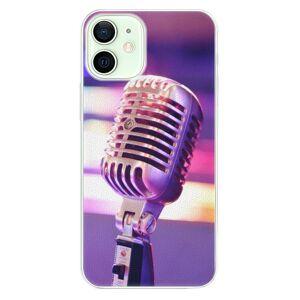 Plastové puzdro iSaprio - Vintage Microphone - iPhone 12