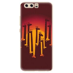 Plastové puzdro iSaprio - Giraffe 01 - Huawei P10