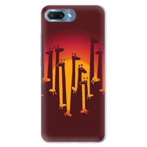 Silikónové puzdro iSaprio - Giraffe 01 - Huawei Honor 10
