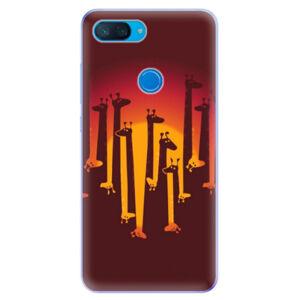 Odolné silikonové pouzdro iSaprio - Giraffe 01 - Xiaomi Mi 8 Lite