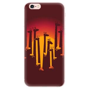 Odolné silikónové puzdro iSaprio - Giraffe 01 - iPhone 6 Plus/6S Plus