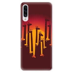 Odolné silikónové puzdro iSaprio - Giraffe 01 - Samsung Galaxy A30s