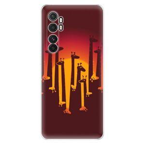 Odolné silikónové puzdro iSaprio - Giraffe 01 - Xiaomi Mi Note 10 Lite