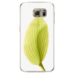Plastové puzdro iSaprio - Green Leaf - Samsung Galaxy S6 Edge
