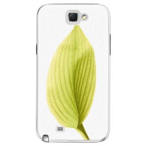 Plastové puzdro iSaprio - Green Leaf - Samsung Galaxy Note 2