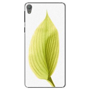 Plastové puzdro iSaprio - Green Leaf - Sony Xperia E5