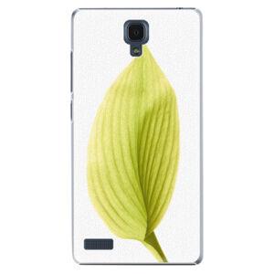 Plastové puzdro iSaprio - Green Leaf - Xiaomi Redmi Note