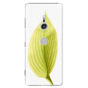 Plastové puzdro iSaprio - Green Leaf - Sony Xperia XZ3