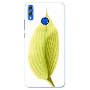 Silikónové puzdro iSaprio - Green Leaf - Huawei Honor 8X