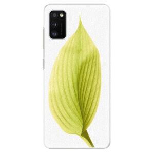 Plastové puzdro iSaprio - Green Leaf - Samsung Galaxy A41