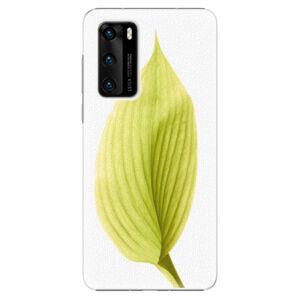 Plastové puzdro iSaprio - Green Leaf - Huawei P40