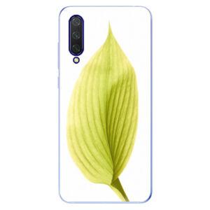 Odolné silikónové puzdro iSaprio - Green Leaf - Xiaomi Mi 9 Lite