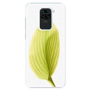 Plastové puzdro iSaprio - Green Leaf - Xiaomi Redmi Note 9