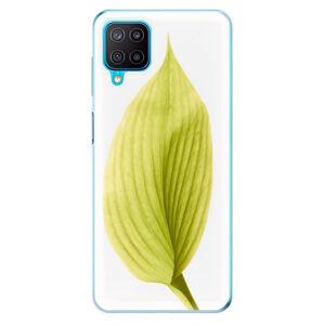 Odolné silikónové puzdro iSaprio - Green Leaf - Samsung Galaxy M12