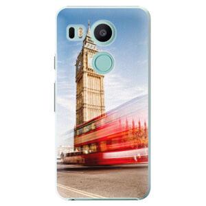 Plastové puzdro iSaprio - London 01 - LG Nexus 5X