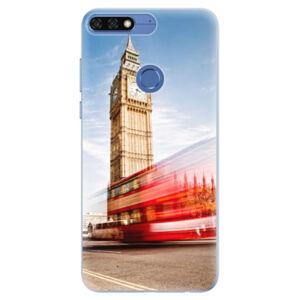 Silikónové puzdro iSaprio - London 01 - Huawei Honor 7C