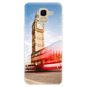 Odolné silikónové puzdro iSaprio - London 01 - Samsung Galaxy J6