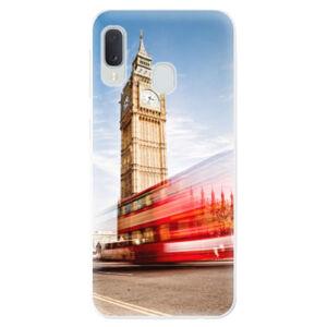 Odolné silikónové puzdro iSaprio - London 01 - Samsung Galaxy A20e
