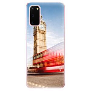 Odolné silikónové puzdro iSaprio - London 01 - Samsung Galaxy S20