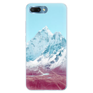 Silikónové puzdro iSaprio - Highest Mountains 01 - Huawei Honor 10