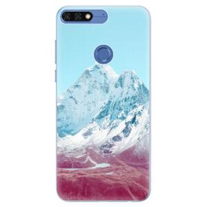 Silikónové puzdro iSaprio - Highest Mountains 01 - Huawei Honor 7C