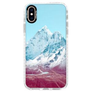 Silikónové púzdro Bumper iSaprio - Highest Mountains 01 - iPhone XS