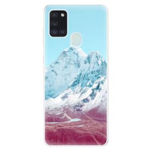 Odolné silikónové puzdro iSaprio - Highest Mountains 01 - Samsung Galaxy A21s