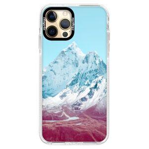Silikónové puzdro Bumper iSaprio - Highest Mountains 01 - iPhone 12 Pro